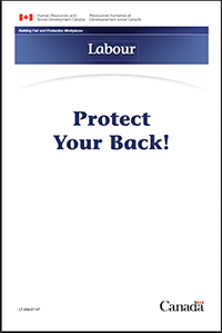 Protect Your Back! Ergonomic guidelines.