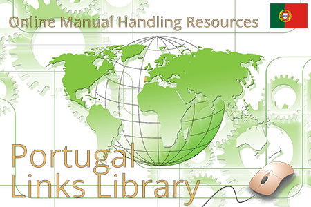 Online manual handling resources on employer duties and ergonomic guidelines for lifting in Portugal.