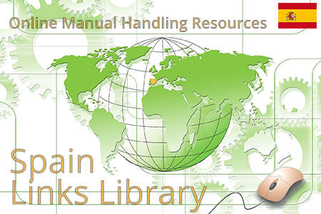 Onlines manual handling resources on ergonomics, risk assessment and guidelines for lifting and carrying in Spain.