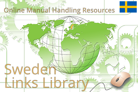 Online manual handling resources and ergonomic guidelines for lifting, pushing and pulling in Sweden.