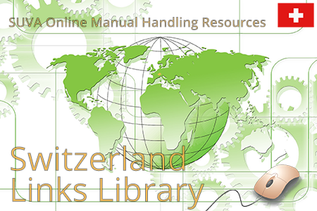 Online resources from SUVA Switzerland on manual handling and ergonomic risk assessments.