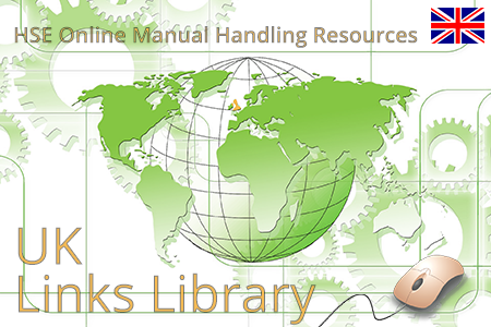 Online resources from HSE UK on manual handling regulations and ergonomic risk assessment tools.