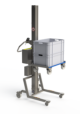 Pallet lifter solution / dolly. For lifting boxes.
